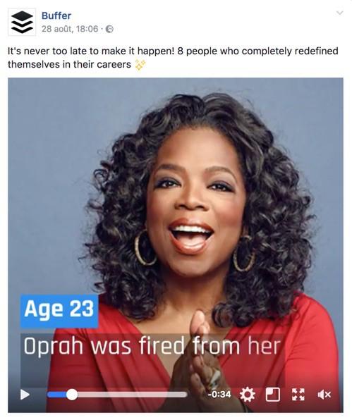 Oprah vie classe datant