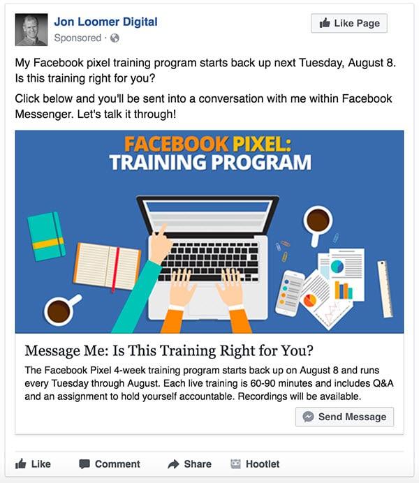 7 exemples géniaux de publicité Facebook (que vous devez ...